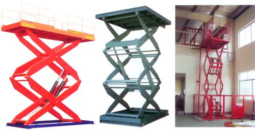 Подъемные столики и платформы